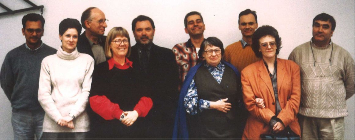 Founders group of the European Textile Network 1993