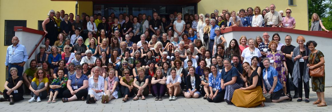 participants of the ETN conference in Haslach/Austria, July 2019