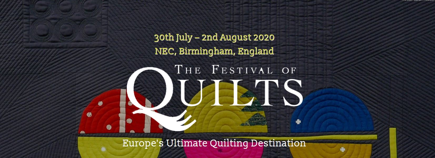 The Festival of Quilts and the Vlieseline Fine Art Textiles Award, Birmingham, GB