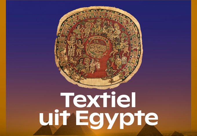 Textiles from Egypt - Exhibition at the Rijksmuseum can Oudheden, Leiden, NL